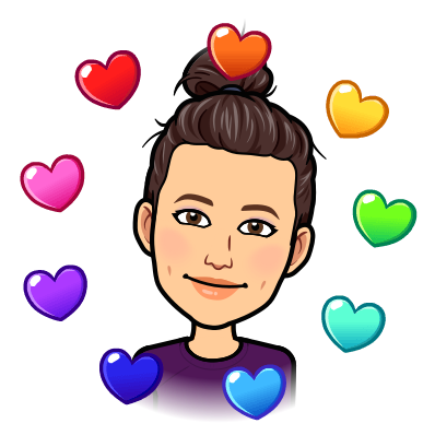 image of Ms. Abbott bitmoji with heart color wheel
